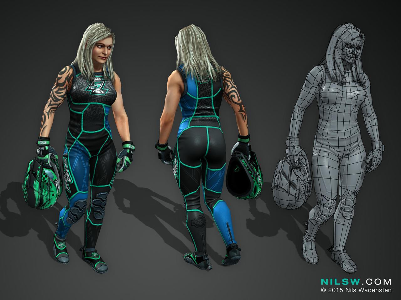 Character Design Maya : Nils wadensten d artist nilsw